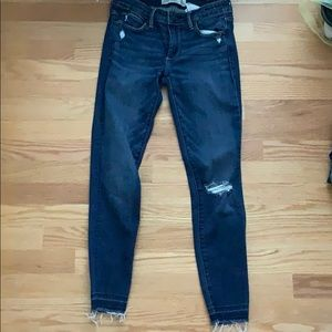 Abercrombie Ankle Jeans